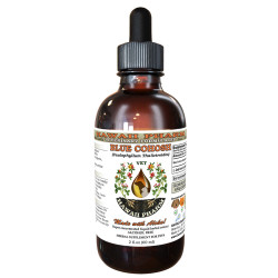 Blue Cohosh (Caulophyllum Thalictroides) Wildcrafted Dried Root Veterinary Natural Alcohol-FREE Liquid Extract, Pet Herbal Supplement