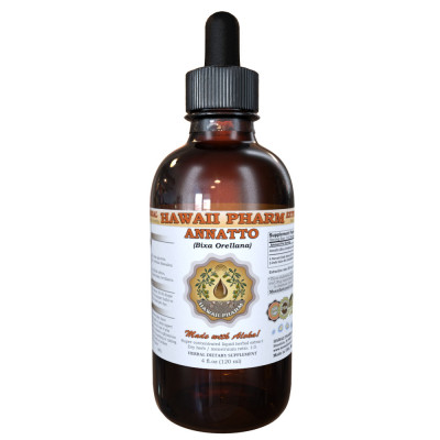 Annatto Liquid Extract, Organic Annatto (Bixa Orellana) Dried Seed Tincture