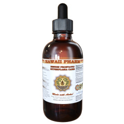 Benign Prostatic Hyperplasia Care Liquid Extract, Saw Palmetto Dried Berries, Pygeum Dried Bark Tincture Herbal Supplement