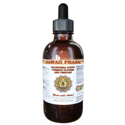 Organic California Poppy Dried Aerial Parts, Passionflower and Blue Vervain Dried Root Liquid Extract Tincture