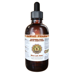 California Poppy and St John's Wort Liquid Extract, Organic California Poppy Dried Aerial Parts and St John's Wort Dried Flower Tincture
