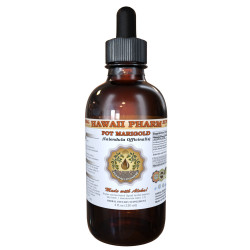 Pot Marigold Liquid Extract, Organic Pot Marigold (Calendula Officinalis) Dried Flower Tincture