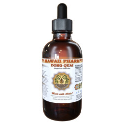 Dong Quai Liquid Extract, Organic Chinese Angelica (Angelica sinensis) Dried Root Tincture