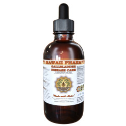 Gallbladder Disease Care Liquid Extract, Green Tea Leaf, Turmeric Root, Milk Thistle Seed Tincture Herbal Supplement