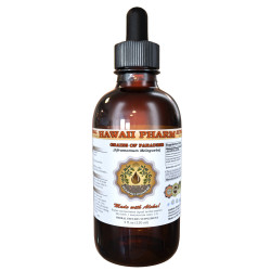 Grains Of Paradise Liquid Extract, Grains Of Paradise (Aframomum Melegueta) Seeds Tincture