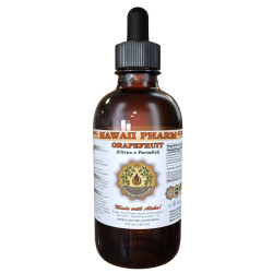 Grapefruit Liquid Extract, Organic Grapefruit (Citrus x paradisi) Dried Peel Tincture