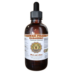 Habanero Liquid Extract, Organic Habanero (Capsicum chinense) Dried Rinds and Fruits Tincture