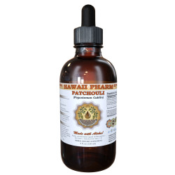Patchouli Liquid Extract, Organic Passion Flower (Pogostemon cablin) Dried Leaf Tincture