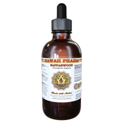Sappanwood (Caesalpinia Sappan) Tincture, Organic Dried Heartwood Liquid Extract, Su Mu, Herbal Supplement