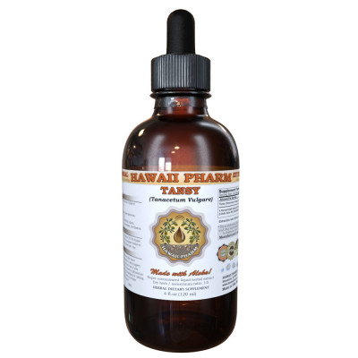 Tansy Liquid Extract, Organic Tansy (Tanacetum Vulgare) Dried Leaf and Flowering Tops Tincture