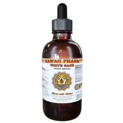 White Sage Liquid Extract, White Sage (Salvia Apiana) Leaf Tincture