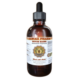 Witch Hazel Liquid Extract, Witch Hazel (Hamamelis Virginiana) Dried Leaf Tincture