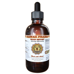 Wood Betony Liquid Extract, Organic Stachys Officinalis (Stachys Officinalis) Dried Herb Tincture