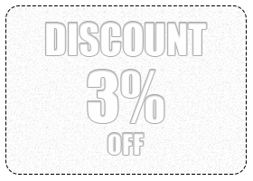 3% ($50-$100) Discount